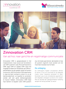 Zinnovation CRM