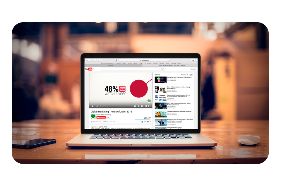 SlideShare en YouTube voor marketingdoeleinden